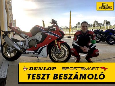 Dunlop SportSmart TT motorgumi teszt - R17.hu