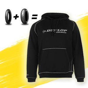 Dunlop párosokhoz ajándék pulóver