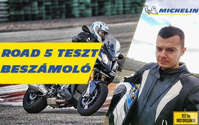 Michelin Road 5 Teszt - Az első hivatalos magyar teszt - R17.hu