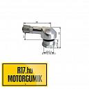 25MS 8,3 mm-es aluházas szerelhetö szelep (alu)